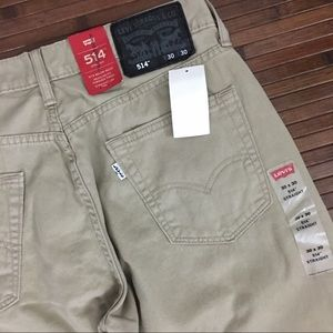 Men's Levi's 514 Khaki Pants Jeans